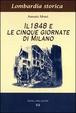 Cover of Il 1848 e le cinque giornate di Milano