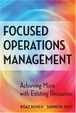 Cover of Focused Operations Management