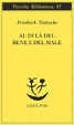 Cover of Al di là del bene e del male