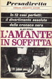 Cover of L'amante in soffitta