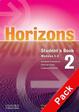 Cover of Horizons. Student's book-Workbook. Con CD Audio. Per le Scuole superiori