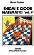 Cover of Enigmi e Giochi matematici vol. 4
