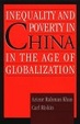 Cover of Inequality and Poverty in China in the Age of Globalization