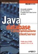 Cover of Java database e programmazione client/server
