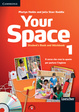Cover of Your Space Level 1 Student's Book and Workbook with Audio CD, Companion Book with Audio CD, Active Digital Book Italian Ed