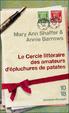 Cover of Le Cercle littéraire des amateurs d'épluchures de patates