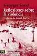 Cover of Reflexiones sobre la violencia