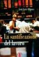 Cover of La santificazione del lavoro