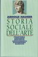 Cover of Storia sociale dell'arte vol.1
