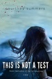 Cover of This is Not a Test