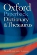 Cover of Oxford Paperback Dictionary and Thesaurus