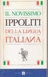 Cover of Il Novissimo Ippoliti della lingua italiana
