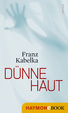 Cover of Dünne Haut