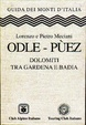 Cover of Odle - Puez