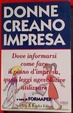 Cover of Donne creano impresa