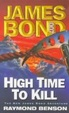 Cover of Ian Fleming's James Bond in Richard Benson's High time to kill