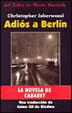 Cover of Adiós a Berlín