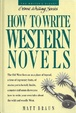 Cover of How to write western novels