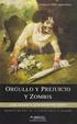 Cover of Orgullo y prejuicio y zombis
