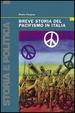 Cover of Breve storia del pacifismo in Italia