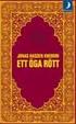 Cover of Ett öga rött