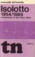 Cover of Isolotto 1954-1969