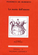 Cover of La morte dell'amore