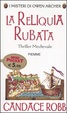 Cover of La reliquia rubata