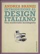 Cover of Introduzione al design italiano
