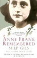 Cover of Anne Frank Remembered