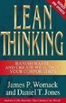 Cover of Lean Thinking