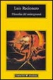 Cover of Filosofías del underground