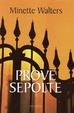 Cover of Prove sepolte