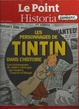 Cover of Les personnages de Tintin dans l'histoire