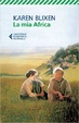 Cover of La mia Africa