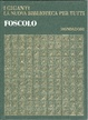 Cover of Ugo Foscolo