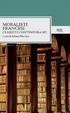 Cover of Moralisti francesi