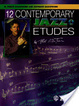 Cover of 12 Contemporary Jazz Etudes