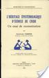 Cover of L'héritage épistémologique d'Eudoxe de Cnide