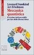 Cover of Meccanica quantistica