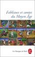 Cover of Fabliaux et contes moraux du Moyen Age
