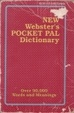 Cover of New Webster's Pocket Pal Dictionary