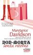 Cover of Non-morta senza ritorno