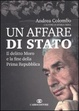 Cover of Un affare di Stato
