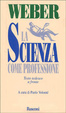 Cover of La scienza come professione