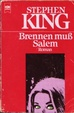 Cover of Brennen muß Salem