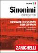 Cover of Sinonimi compatto. Dizionario dei sinonimi e dei contrari
