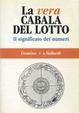 Cover of La vera cabala del lotto