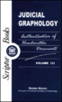 Cover of Judicial graphology