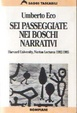 Cover of Sei passeggiate nei boschi narrativi